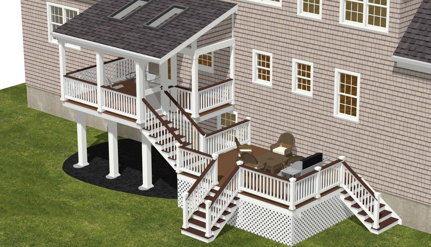 Deck Gallery Sunny House Construction Kitchen Remodeling Design Bathroom Remodeling