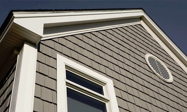 vinyl plastic Cedar shingle siding