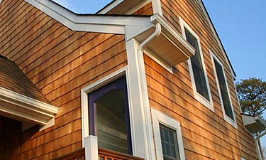 wood cedar shingles siding