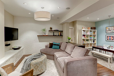 Basement Finishing remodeling and design in CT